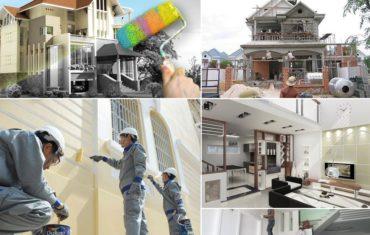 các nguyên tắc khi sửa chữa nhà hn